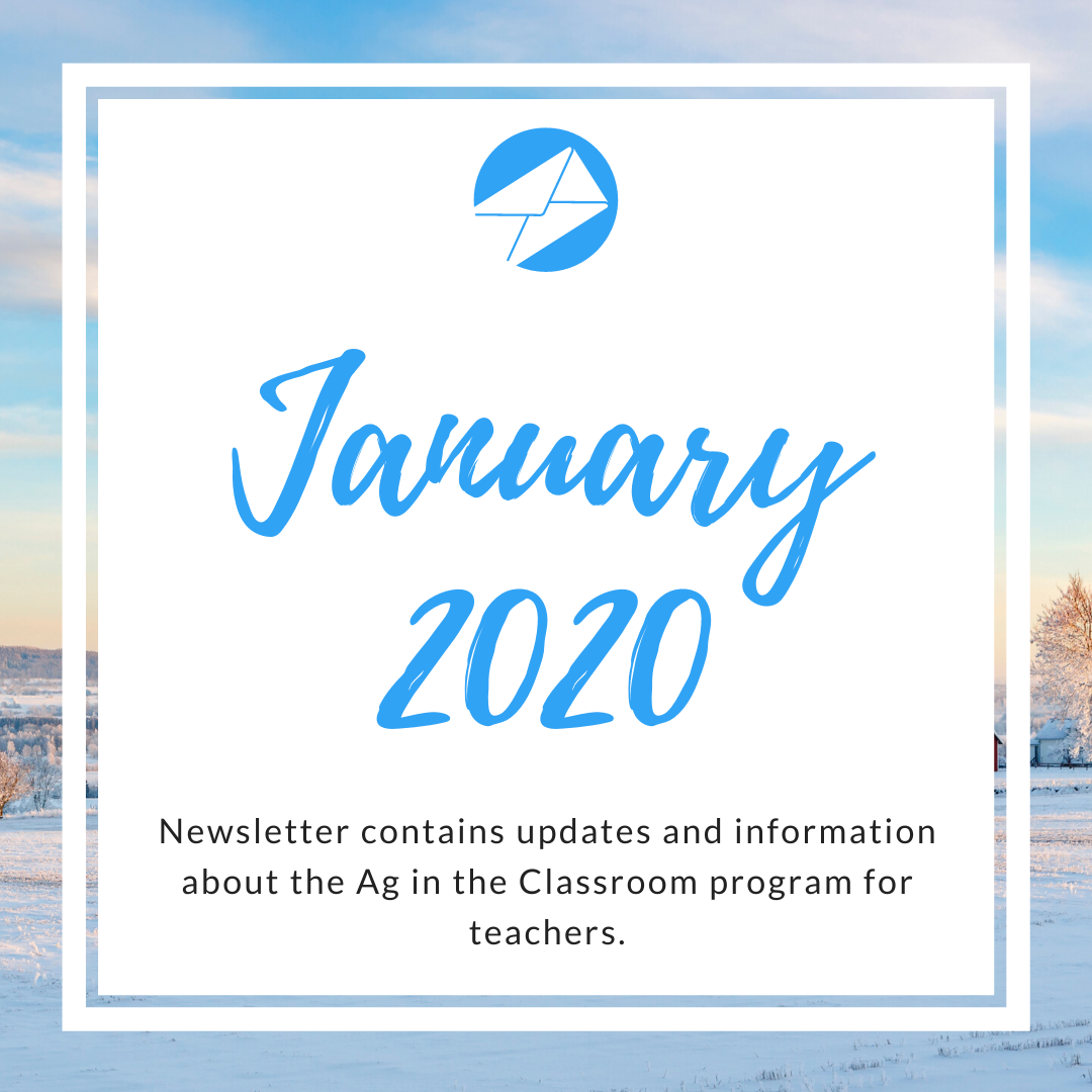 January 2020 Ag in the Classroom newsletters (1)