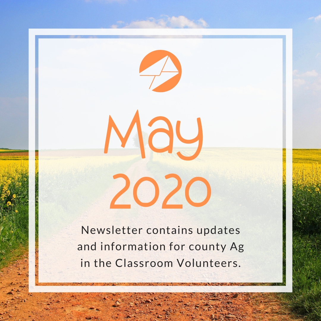 May 2020 Ag in the Classroom newsletters