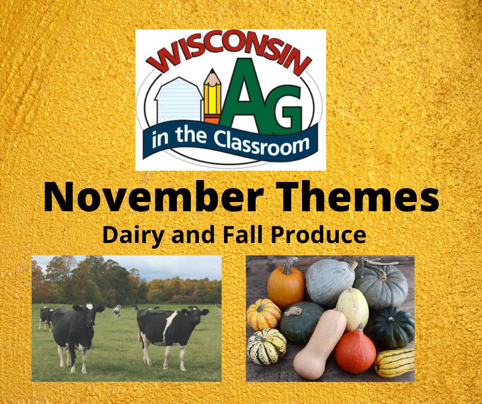 November Dairy and Fall Produce