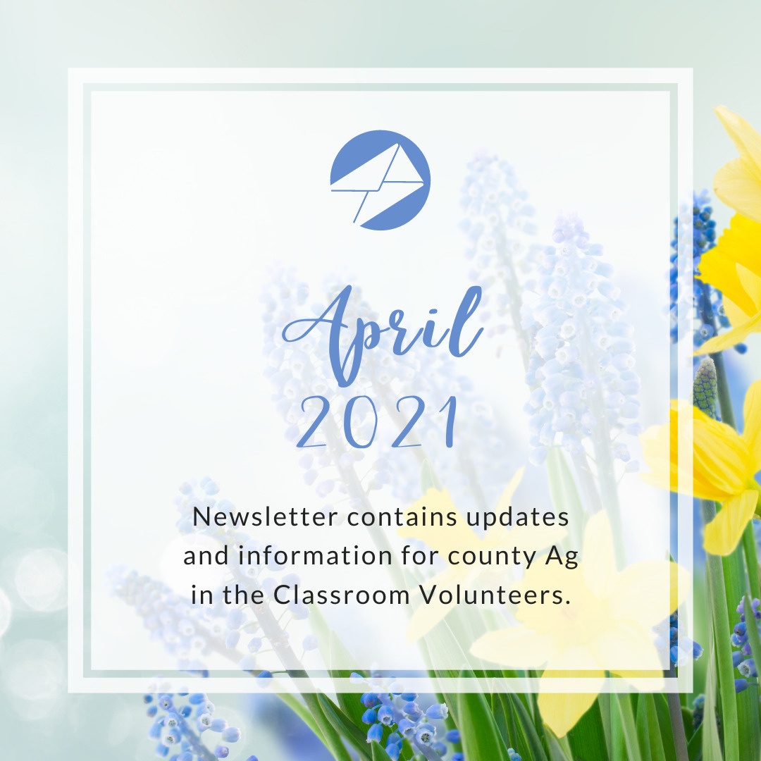 Volunteer - Ag in the Classroom newsletters