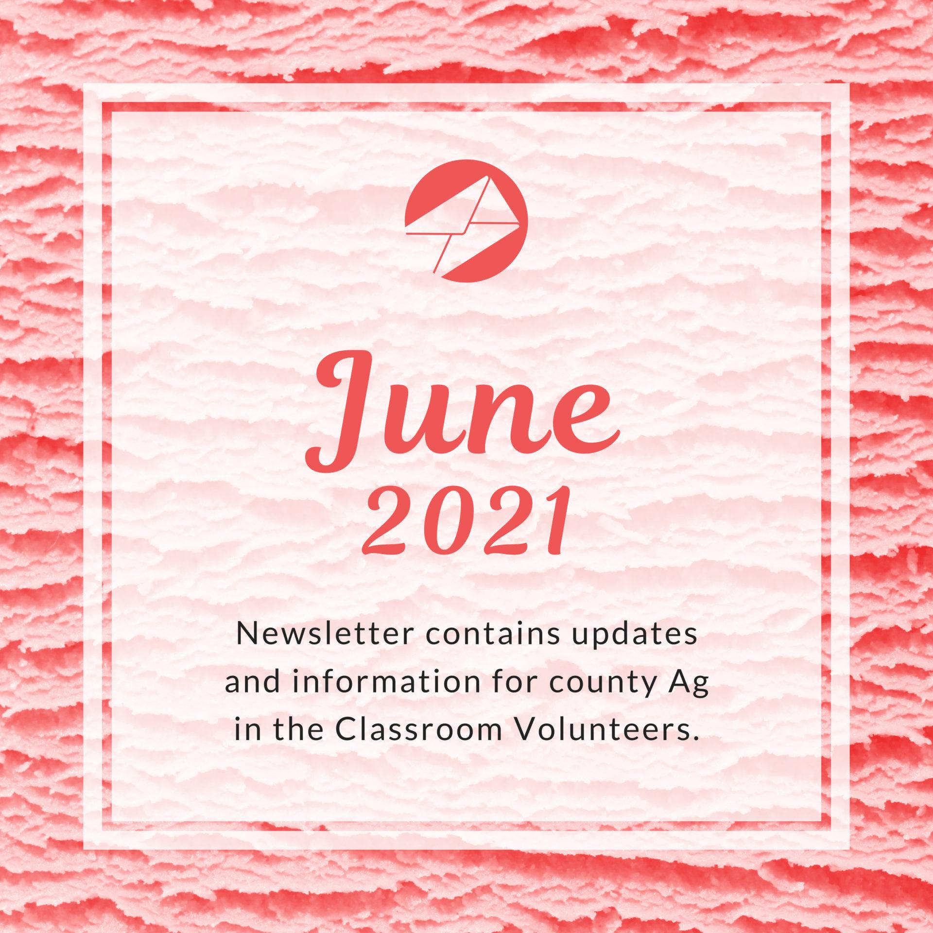 June 2021 Volunteers